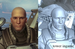 E3 player head