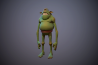goblin in marmoset